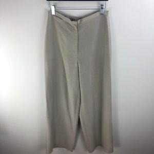 Eileen Fisher Wide Leg Silk Pants Size S